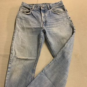 VTG 32x30 GAP Jeans Distressed Perfection